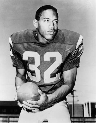 "Back when he was a football hero at USC, O.J. Simpson was known as ""Orange Juice"" or simply ""The Juice."""