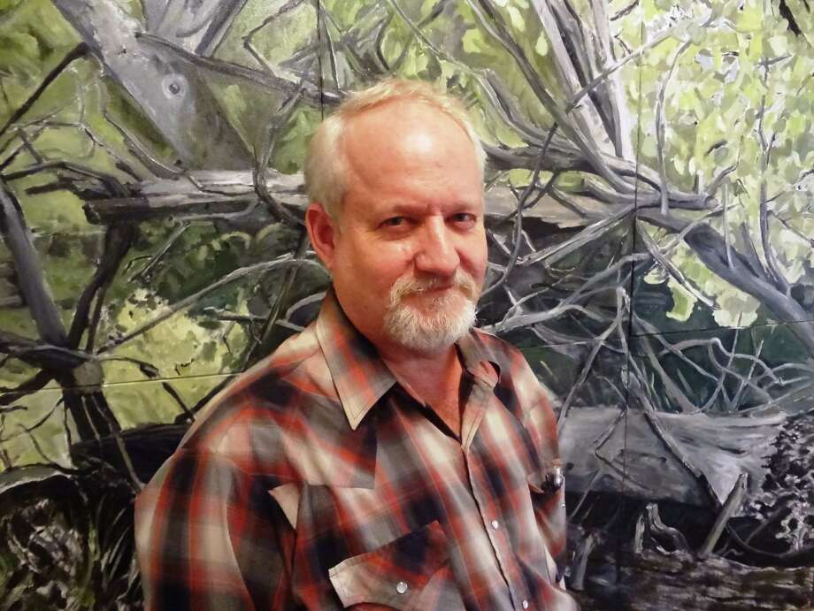 More than 75 works by Brian St. John are on exhibit at the Art League Museum.