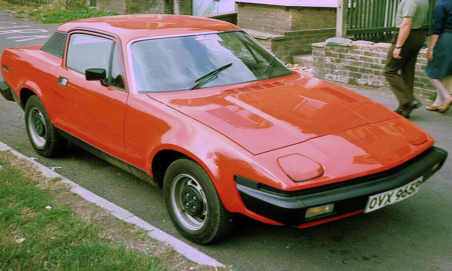 47. 1975 Triumph TR7 -- The Triumph didn't win anything. It was a lame attempt to build a British sports car. The hardtop also was terrible. (Photo: Charles01, Wikipedia)