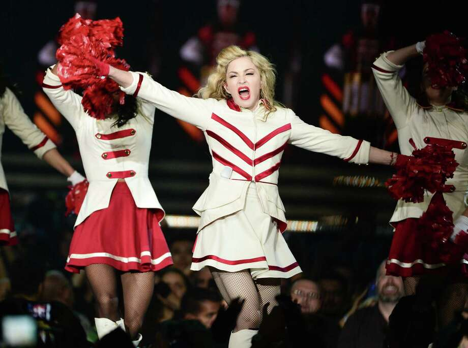 "Madonna made a bizarre speech in Washington, D.C. in September 2012, calling President Obama a ""black Muslim."" Photo: George Pimentel, George Pimentel/Getty Images / 2012 Getty Images"