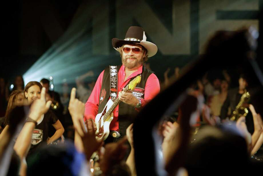 Hank Williams, Jr. was criticized this month for making anti-Obama and anti-gay statements at a concert in Dallas. Photo: John Raoux, John Raoux/AP
