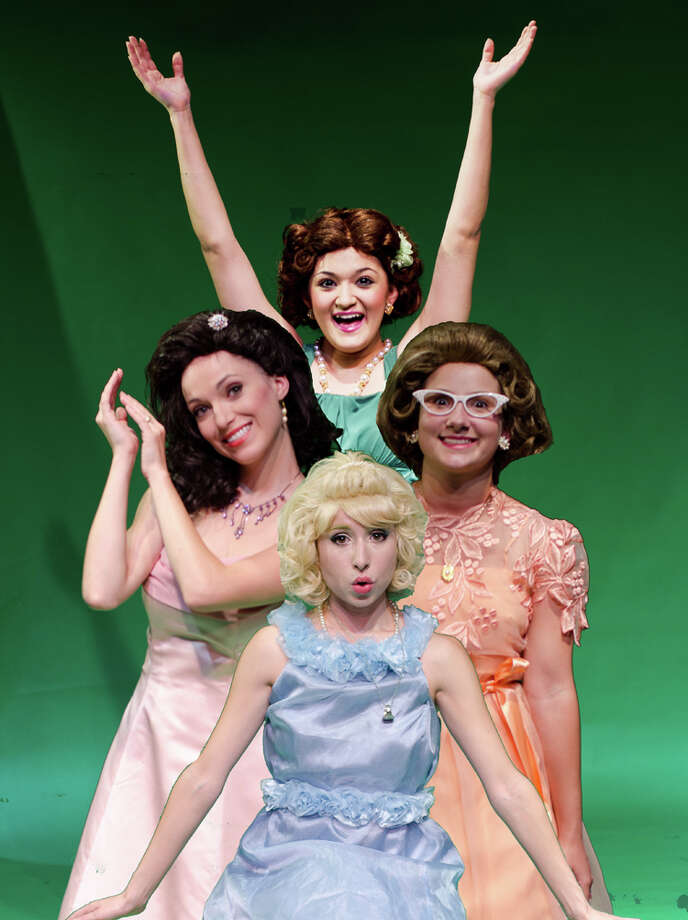 """""""The Marvelous Wonderettes"""" features (clockwise from top) Jovi Gonzales, Jazmin Chacon, Katherine Segapeli and Kat Connor. Photo: Courtesy, James Teninty"""