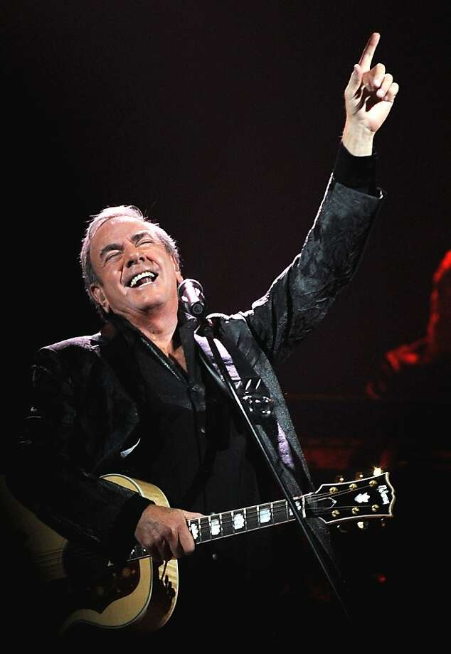 Neil Diamond wows the audience in Las Vegas last month. Photo: Glenn Pinkerton, Associated Press