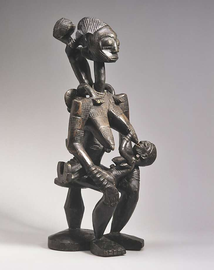 "This Afo maternity figure is part of ""Central Nigeria Unmasked."" Photo: Heini Schneebeli"