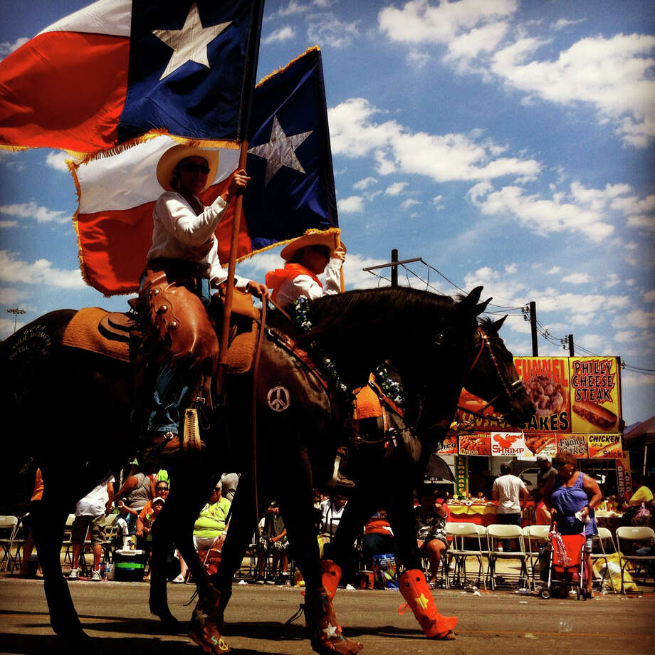 Six months 'till Fiesta! Photo: Lisa Krantz / SAN ANTONIO EXPRESS-NEWS