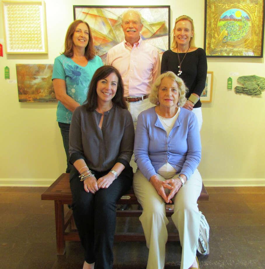 New RAC members are, from left, photographer Betty Wisse (Bridgeport), photographer Danielle Goldstein (Westport), printmaker Louis Killeffer (Rowayton), oil painter Gail Beutel (New Canaan) and photographer Julie Frank (Wilson Point). Photo: Contributed Photo / Norwalk Citizen