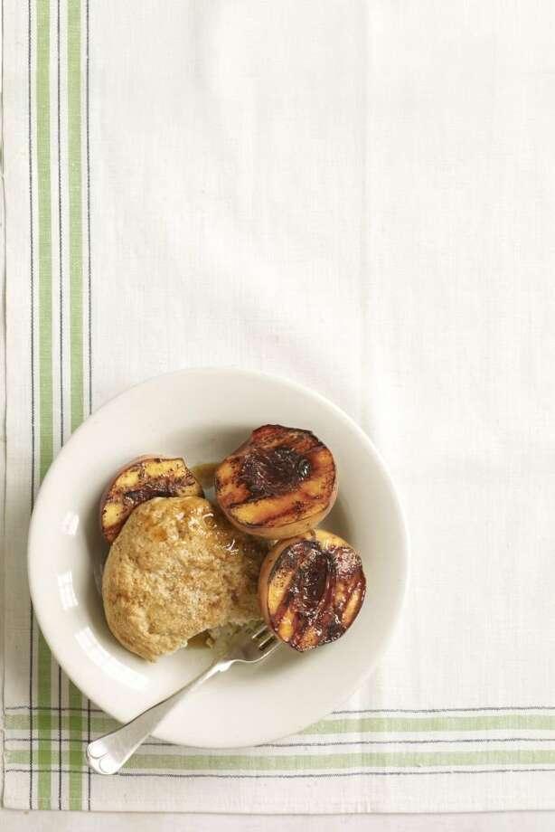 Country Living recipe for Guilt-Free Peach Cobbler. Photo: Kana Okada