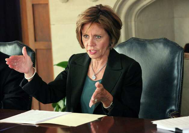 City Manager Sheryl Sculley discusses boarding home issues with EN editorial board on Tuesday September 25, 2012 Photo: JUANITO M GARZA, San Antonio Express-News / San Antonio Express-News