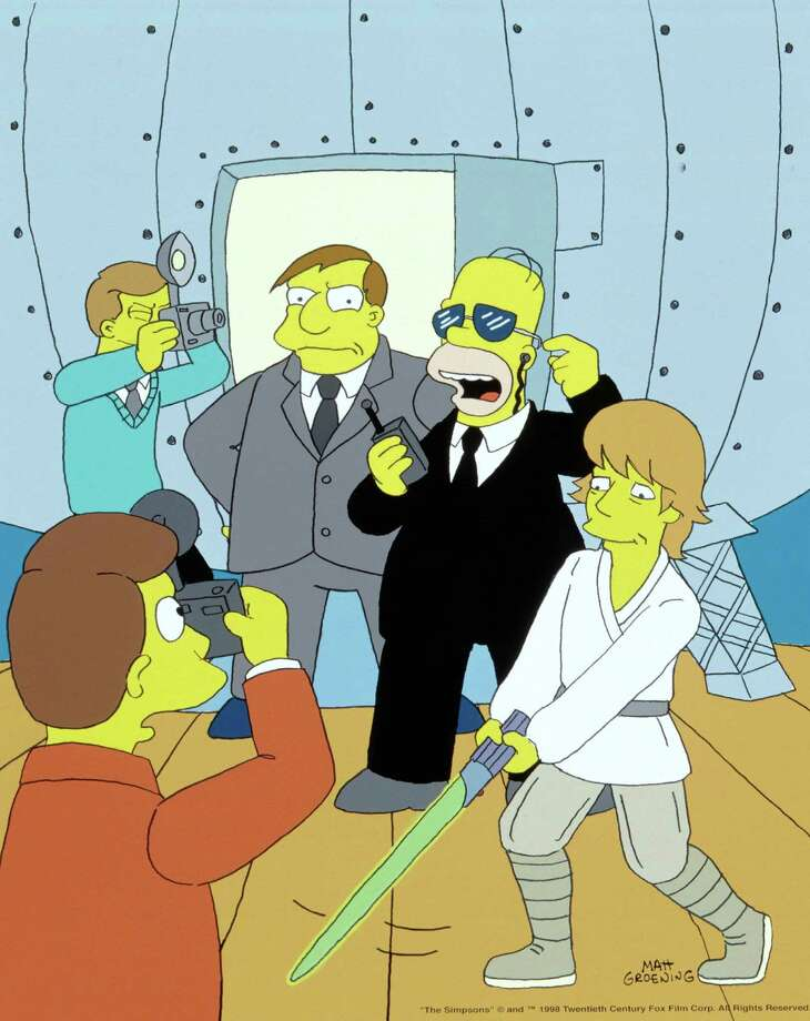 "After ""Return of the Jedi,"" Mark Hamill appeared in several Broadway plays, and made guest appearances on television shows, including ""The Simpsons."" Photo: Stf, FOX  / FOX BROADCASTING COMPANY"