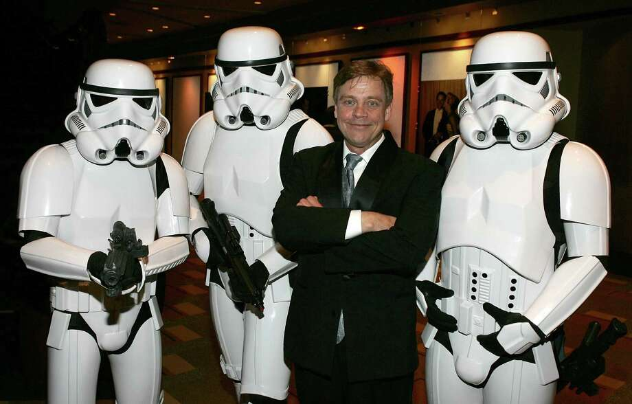 And he's still short for a Stormtrooper. Photo: Frazer Harrison, Getty Images / 2005 Getty Images