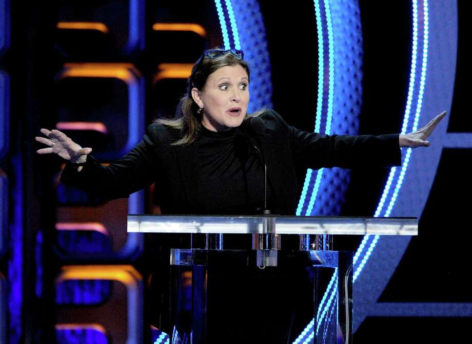 "Carrie Fisher went on to appear in such movies as ""Austin Powers,"" ""The 