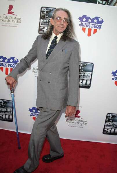 Here's Peter Mayhew arriving at St. Jude's 30th anniversary screening of