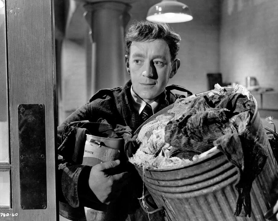 "But Alec Guinness was a successful actor long before he played Obi-Wan Kenobi in ""Star Wars."" Here he is as as Sidney Stratton in the 1951 movie ""The Man In The White Suit."" Photo: Hulton Archive, Getty Images / Hulton Archive"