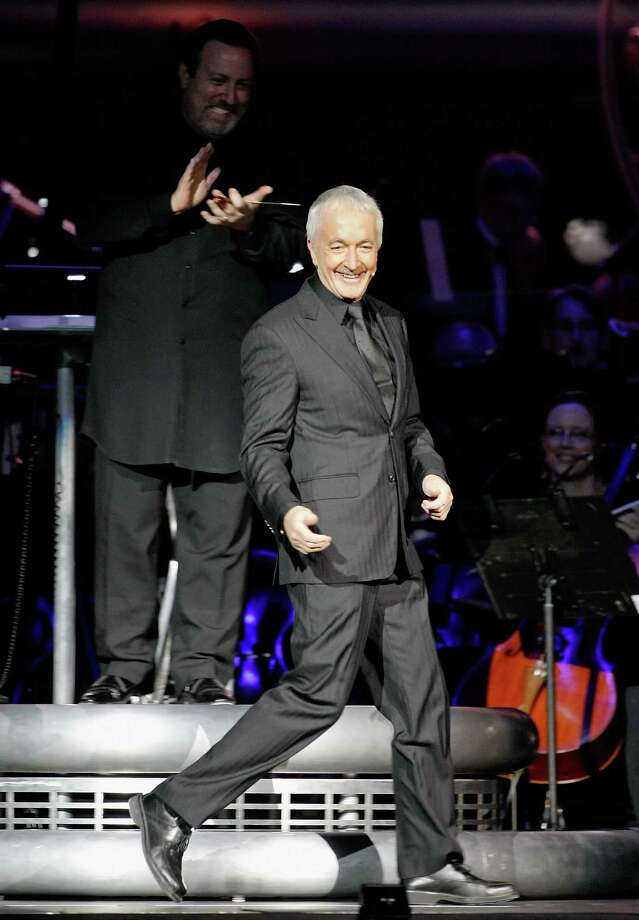 "Anthony Daniels made a grand entrance at ""Star Wars: In Concert,"" on May 29, 2010 in the Orleans Arena  in Las Vegas. Photo: Ethan Miller, Getty Images / 2010 Getty Images"