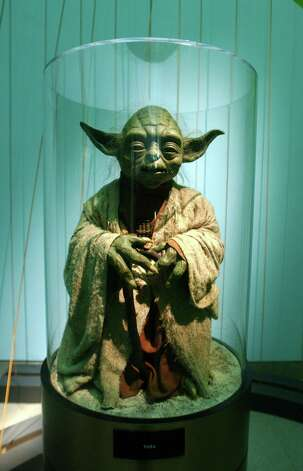 "Grand Master Jedi Yoda died, of course, in ""Return of the Jedi."" Photo: Spencer Platt, Getty Images / Getty Images North America"
