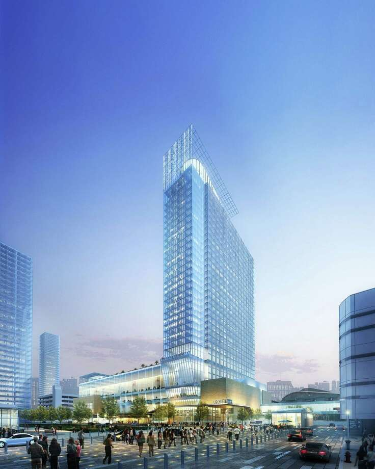 Houston First has selected Rida Development Corp. to build a 1,000-room convention center hotel near the George R. Brown Convention Center. Photo: Courtesy Rida Development Corp.