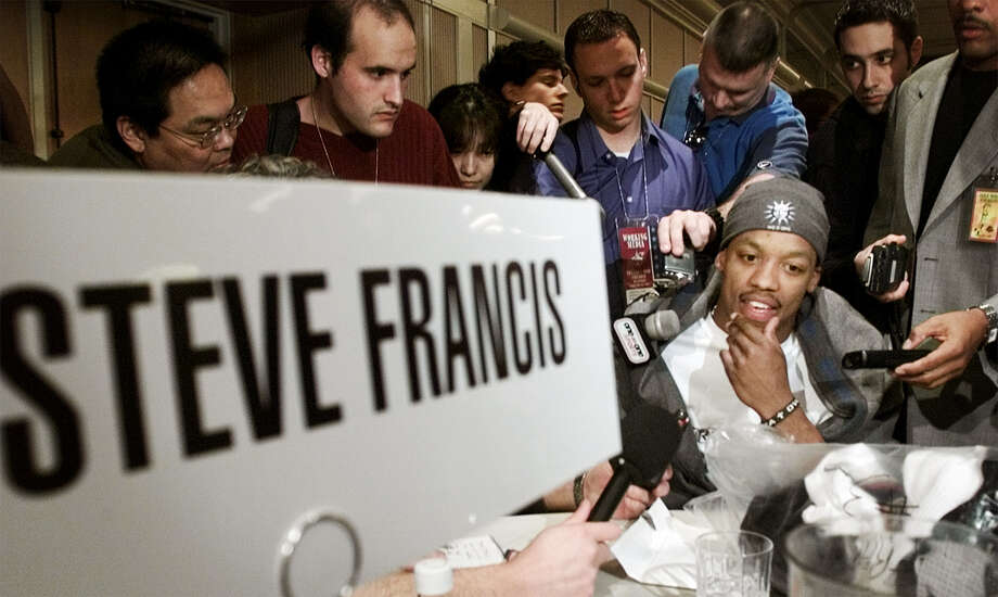 Steve Francis: 2002-04 Photo: PABLO MARTINEZ MONSIVAIS, AP / AP