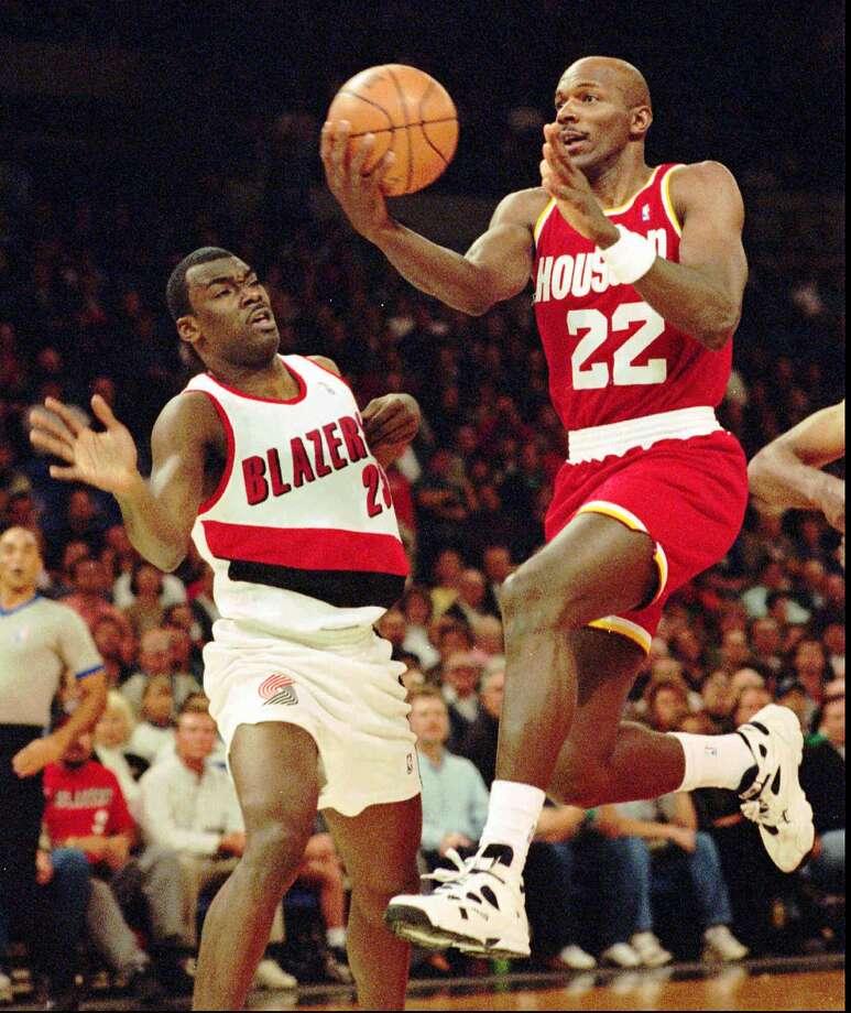 Clyde Drexler NBA experience: 1983-1998 Photo: DON RYAN, AP / AP