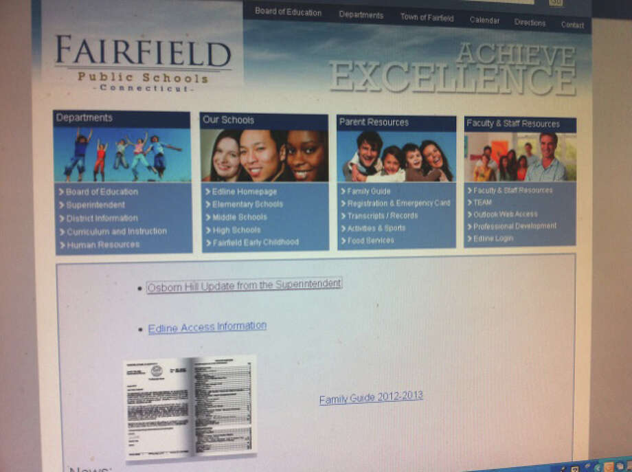 Proposed changes in Fairfield public schools' policy on student use of the Internet have sparked concerns by the state chapter of the American Civil Liberties Union. Photo: John Schwing