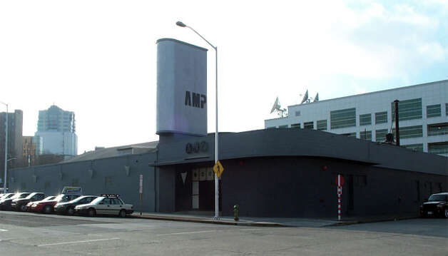 An undated photo of the former Skoochies building when it was Amp nightclub. The building at 131 Taylor Avenue North was also home to Ideal Recreation bowling alley, the Cirque Playhouse, DV8 and other clubs. Photo: County Department Of Assessments