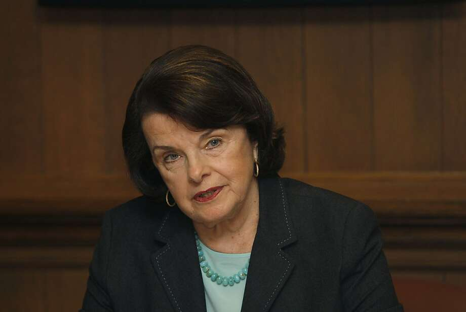 Dianne Feinstein Photo: Liz Hafalia, The Chronicle