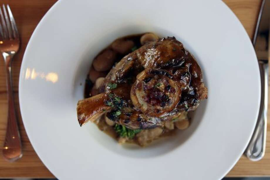 READERS CHOICE: House Pork and Beans from Bliss, named Best New Restaurant. Helen L. Montoya/San Antonio Express-News (San Antonio Express-News)