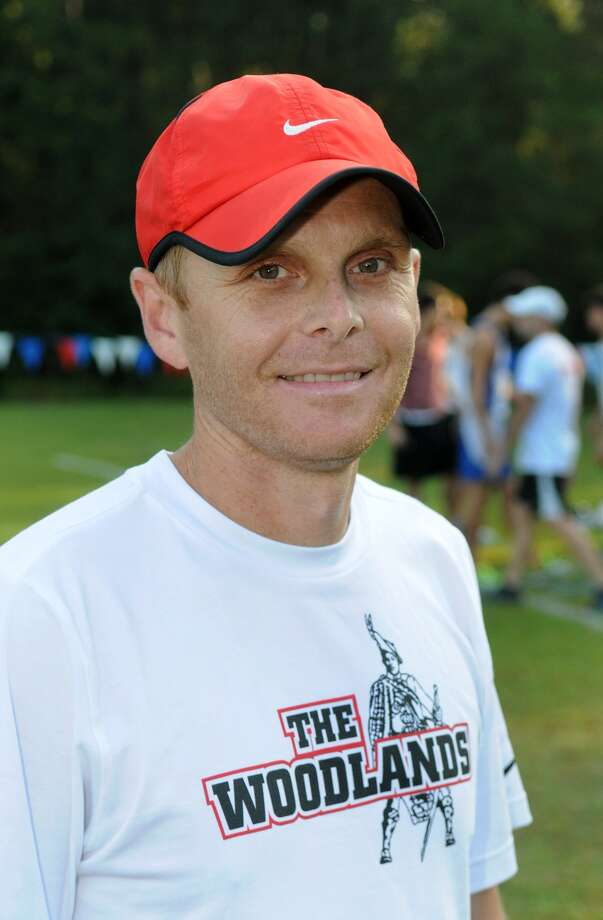The Woodlands Boys Head XC Coach Juris Green Photo: Jerry Baker