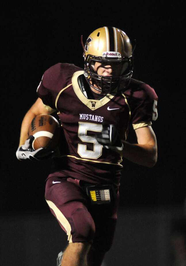 Magnolia West senior wide receiver Jeremy Jordan is waiting to get a substantial college offer. Photo: Jerry Baker