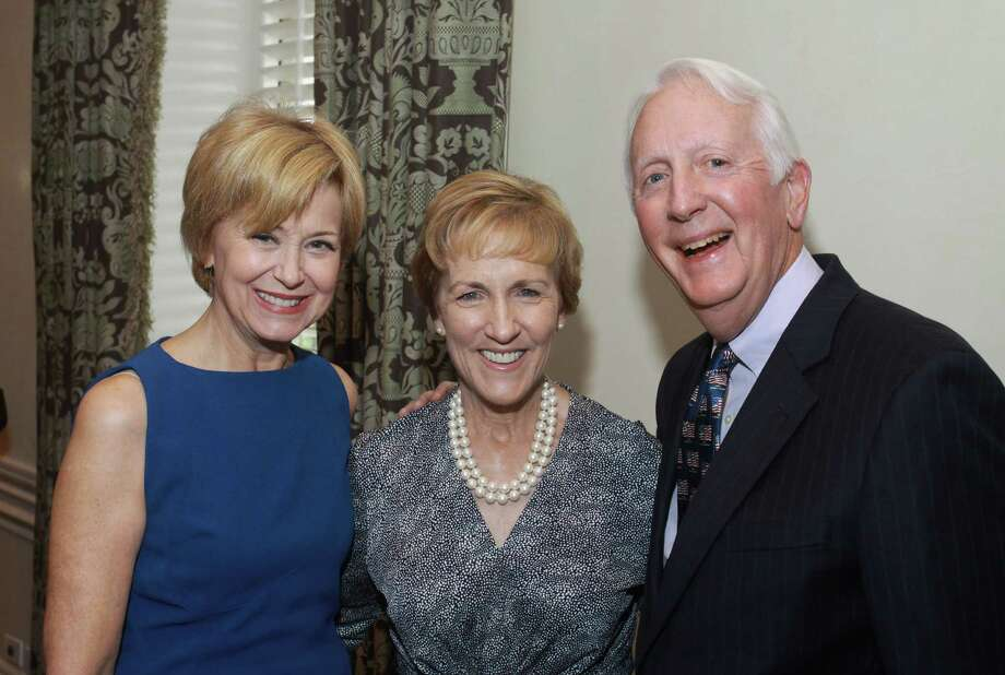 Jane Pauley, from left, with Jan and David Redford Photo: Gary Fountain / Copyright 2012 Gary Fountain.