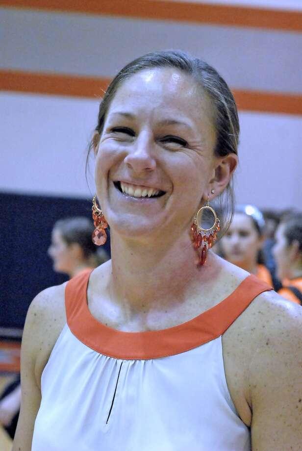 Seven Lakes volleyball head coach Farah Holder Photo:  Tony Bullard 2012 / © Tony Bullard & the Houston Chronicle