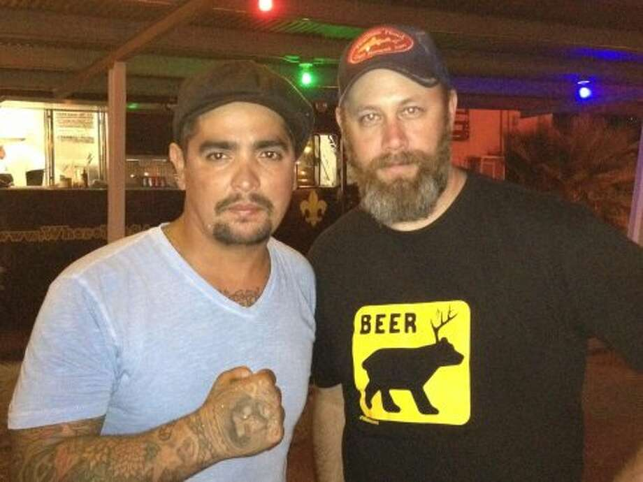 Sanchez and Eat Bar co-owner Steve Newman./Courtesy of Alamo Eat Street Bar