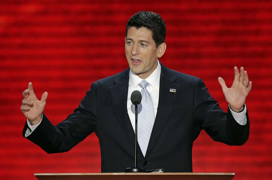 In this Aug. 29, 2012, photo, Republican vice presidential nominee, Rep. Paul Ryan addresses the Republican National Convention in Tampa, Fla. It was Mitt Romney's show. But New Jersey Gov. Chris Christie rocked the house. Florida Sen. Marco Rubio was the talk of the town. And Wisconsin Rep. Paul Ryan's rising-star status was blinding as he accepted the party's vice presidential nomination. The Republican Party's next generation of leaders were in deep supply at the GOP's national convention as they positioned for future national roles and, perhaps, even their own shot at the White House in four or eight years.  (AP Photo/J. Scott Applewhite) (Associated Press)