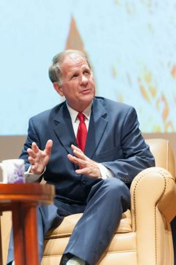 Ted Poe discusses civil discourse at Abilene Christian University. (Paul A. White / © White\\\'s Photography - Abilene, TX)