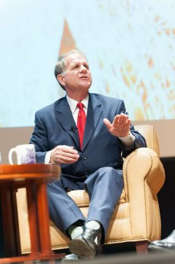 Ted Poe discusses his faith and how it has shaped his politics at Abilene Christian University. (Paul A. White / © White\\\'s Photography - Abilene, TX)