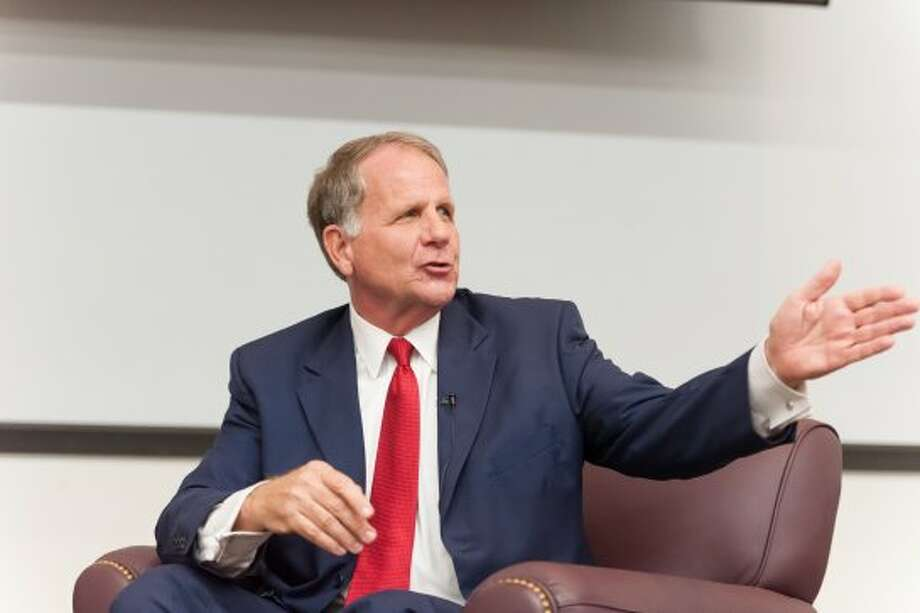 Ted Poe went back to his alma mater, Abilene Christian University, to discuss politics and civil discourse. (Paul A. White / © White\\\'s Photography - Abilene, TX)