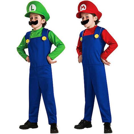 Mario Bros. bundle. $36 on Walmart.com (for two costumes).