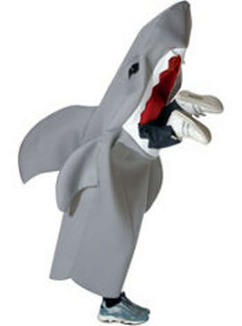 Man-eating shark. $44.99 at PartyCity.com.