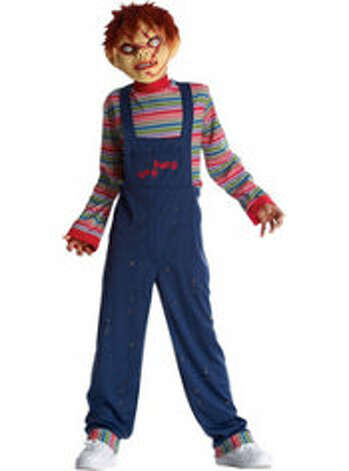 Chucky costume. $29.99 at PartyCity.com.