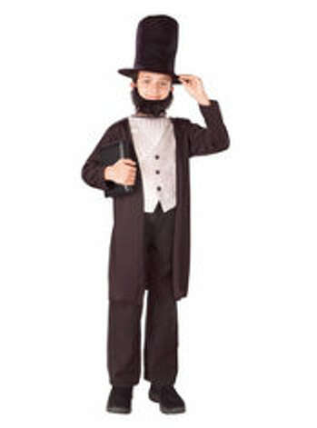 Abe Lincoln. $19.99 at PartyCity.com.