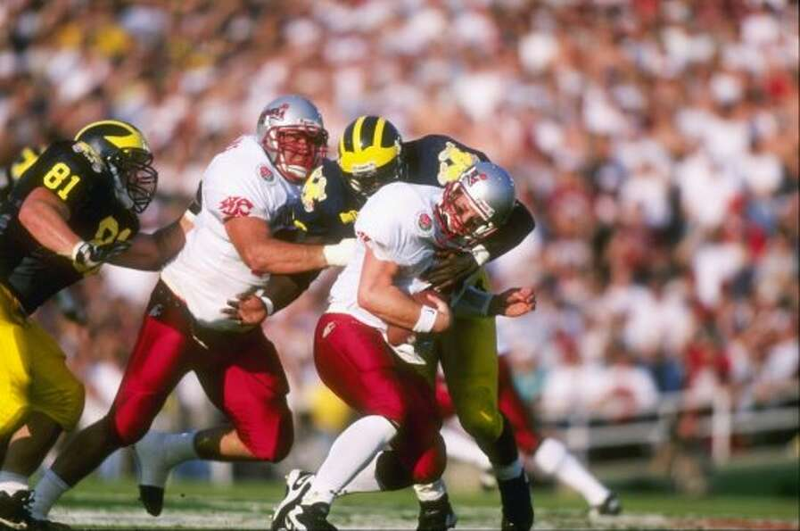 Jan. 1, 1998 -- Two seconds remain in the Rose BowlW