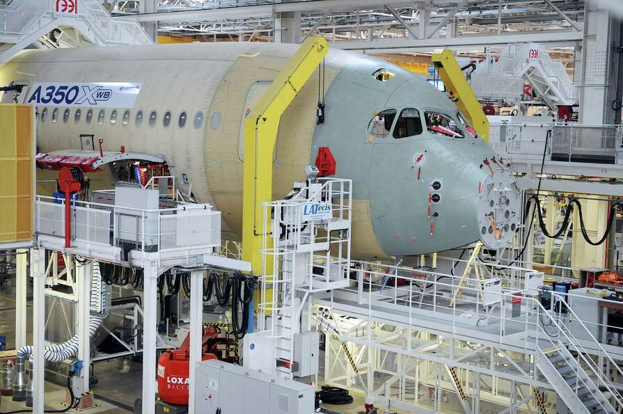 We haven't checked in on production of Airbus' new A350 XWB for a while. Fortunately, French Junior