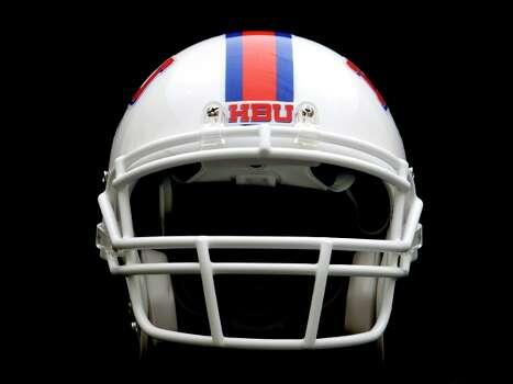 hbu unveils football helmets will begin play in 2013
