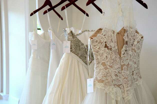 Darien's new bridal boutique, A Little Something White, has a stunning showroom and an awesome selection of bridal gowns.  September 25, 2012, Darien, Conn. Photo: Jeanna Petersen Shepard