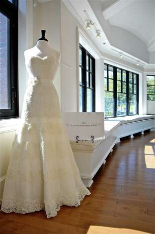 A Little Something White Bridal Couture opened its doors on September 10, 2012, in Darien, Connecticut, offering an exquisite selections of bridal gowns, accessories, and dresses for bridesmaids and flower girls. Photo: Jeanna Petersen Shepard