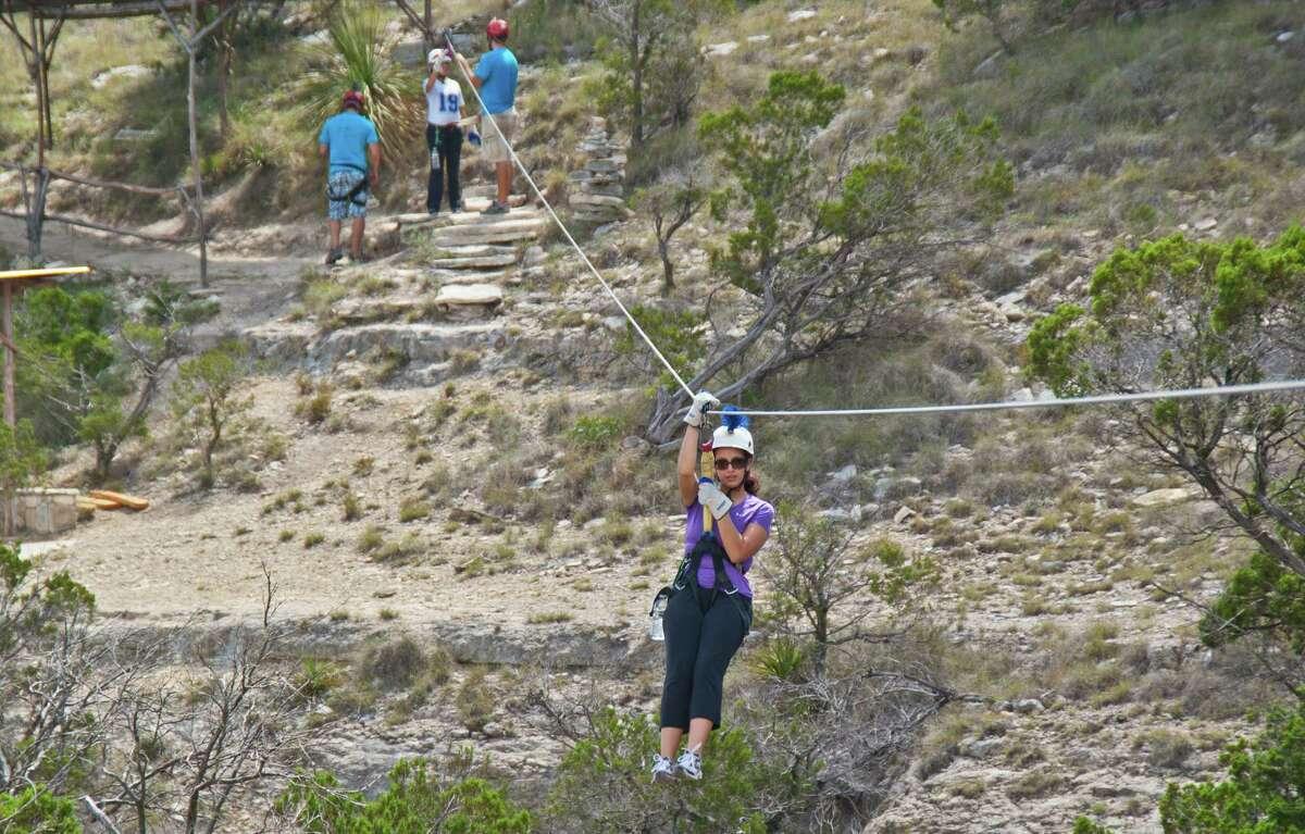 Wimberley Ziplining Adventures Sight-see the Texas Hill Country in a new way with beautiful nature walks and several zip line crossings that are sure to make the perfect GoPro video. Address:300 Winn Valley Dr. Learn more:http://www.wimberleyzipline.com/