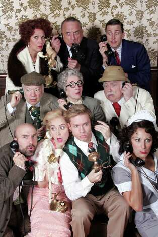 "A musical comedy spoof of vintage Agatha Christie whodunits, ""Something's Afoot,"" starts performances at the Goodspeed Opera House in East Haddam on Friday, Oct. 5. The show is set to run through Dec, 9. Photo: Contributed Photo / Connecticut Post Contributed"