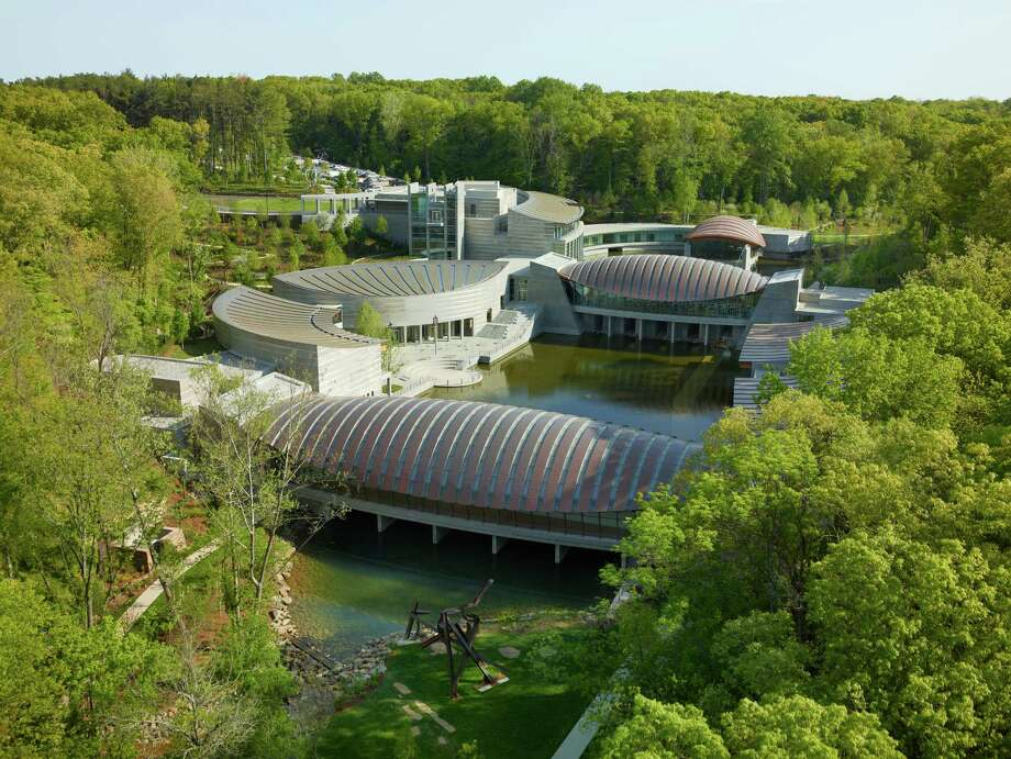 An aerial view of Crystal Bridges Museum of American Art in Bentonville, Arkansas. Photography  by  Timothy Hursley, courtesy of Crystal Bridges Museum of American Art, Bentonville, AR Photo: Timothy Hursley / ©Timothy Hursley