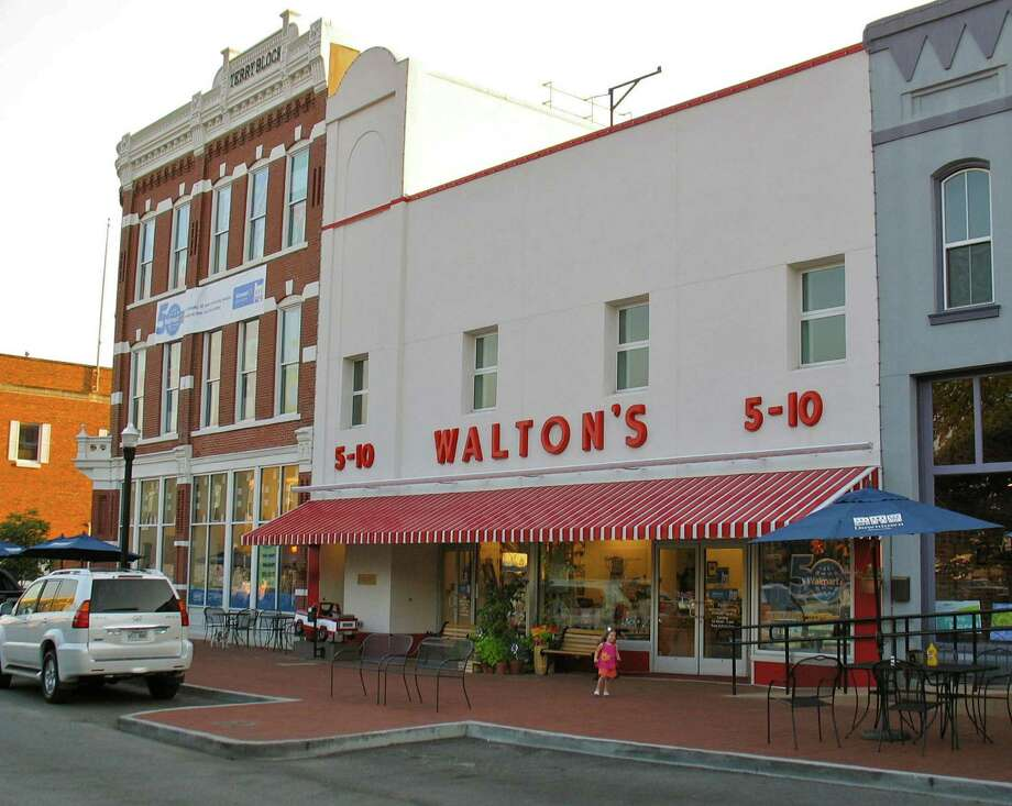 Walton's 5 &10 was Sam Walton's first store. It's now the Walmart Visitor Center, a free museum on the square in Bentonville, Ark. Photo: Betty Luman / © 2012  Houston Chronicle