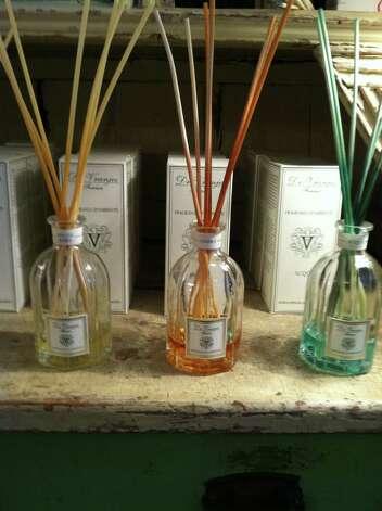 Dr. Vranjes scent diffusers, $88, Olivine, 2405 Rice Blvd.;  713-622-7776, www.olivineliving.com. Photo: Melanie Warner