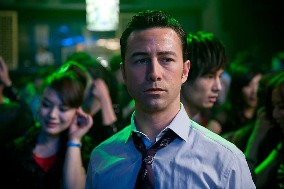 "Joseph Gordon-Levitt as Joe in the action thriller ""Looper."" Photo: Alan Markfield, Sony Pictures"